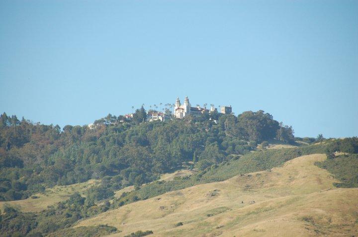 Hearst Castle hilltop