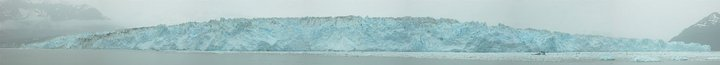 Hubbard Glacier landscape