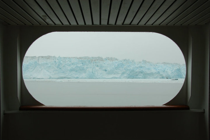 Hubbard Glacier from the ship