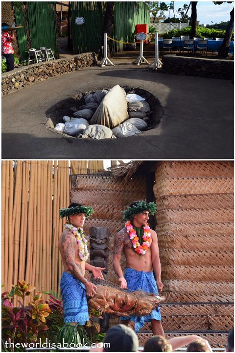Royal Lahaina Resort Luau pig