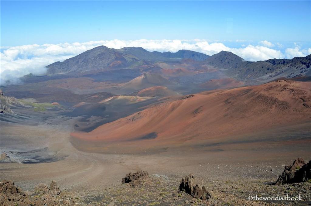 Maui Haleakala summit image