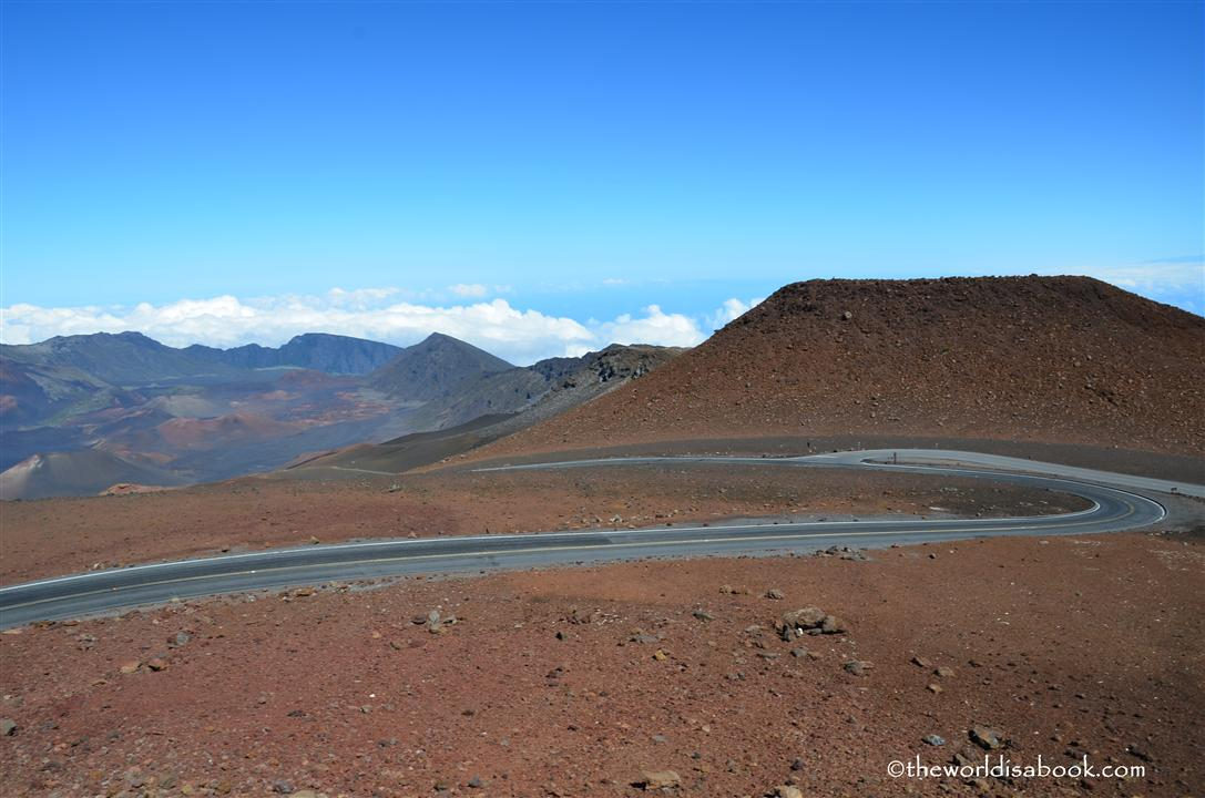 Haleakala summit road