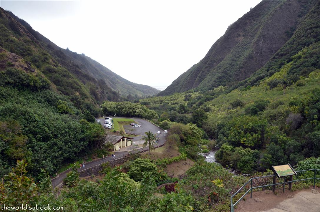 Iao State Park view