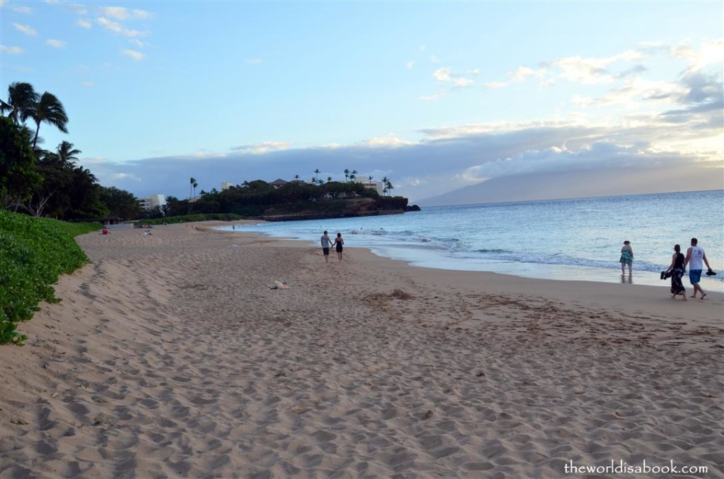 Kaanapali Beach outside Royal Lahaina Resort