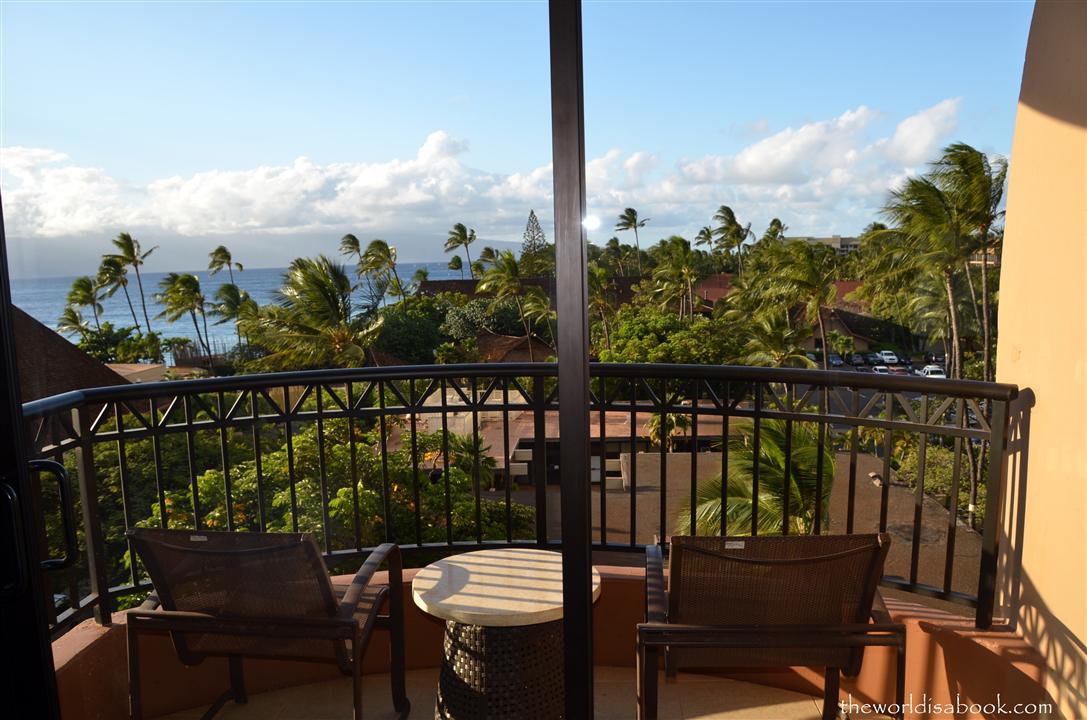 Royal Lahaina Resort balcony