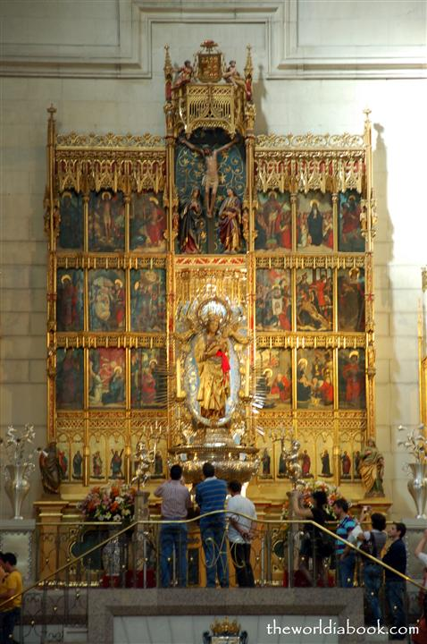 Madrid With Kids Visiting Almudena Cathedral The World