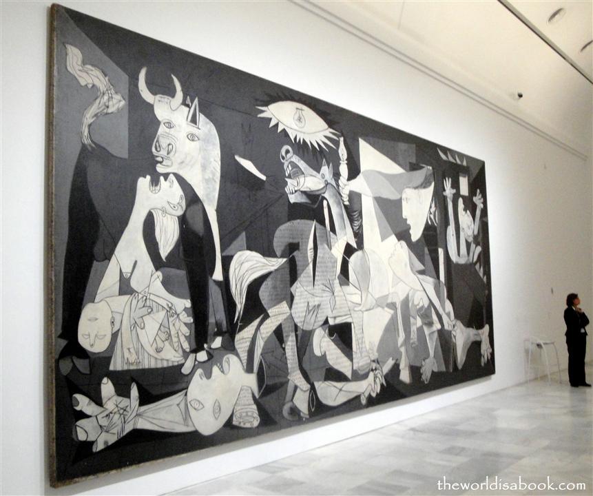 Madrid Prado Picasso's Guernica