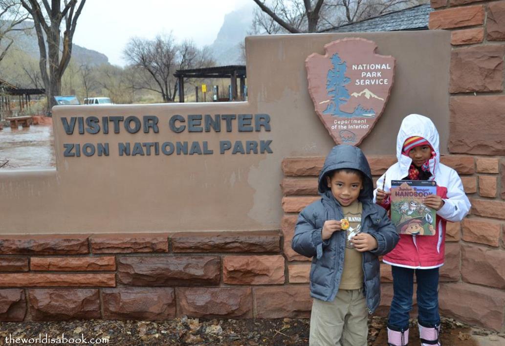 Zion National Park Junior Rangers