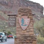 Zion National Park with kids (in winter)