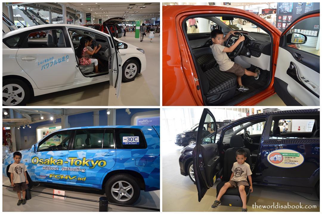 Toyota Megaweb Showroom cars