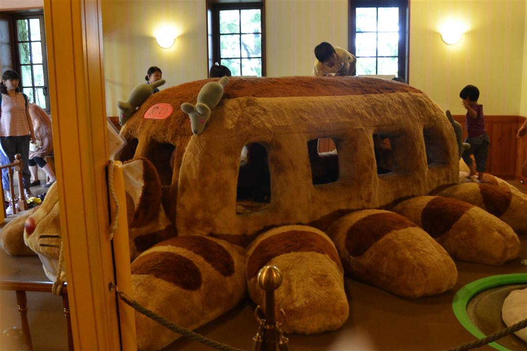 Ghibli Museum Cat Bus