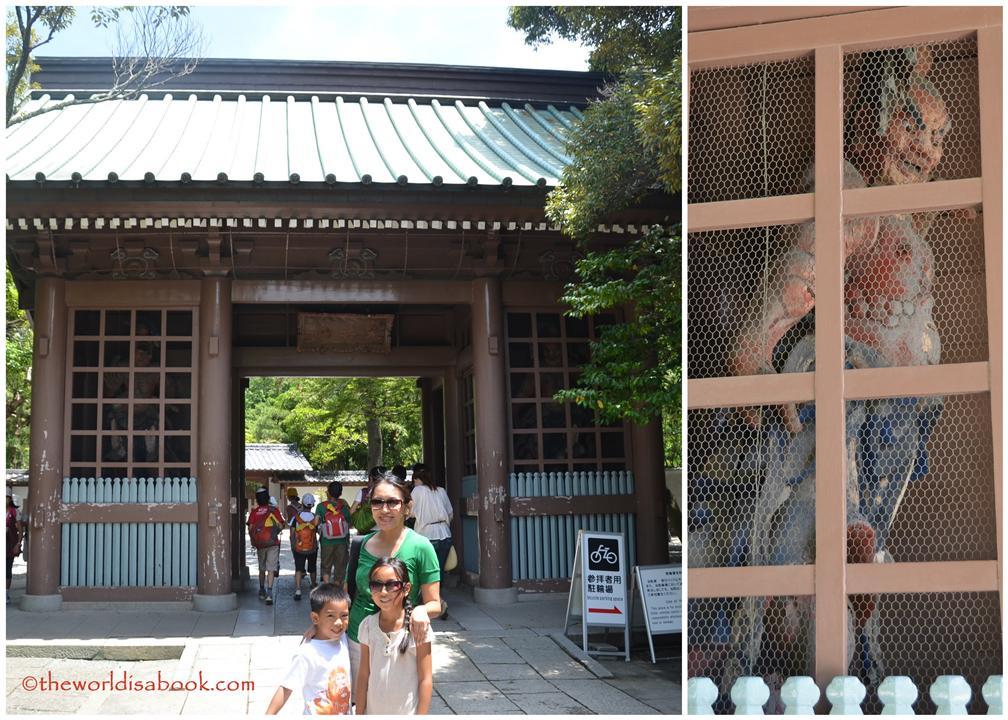 Kamakura entrance to Great Buddha