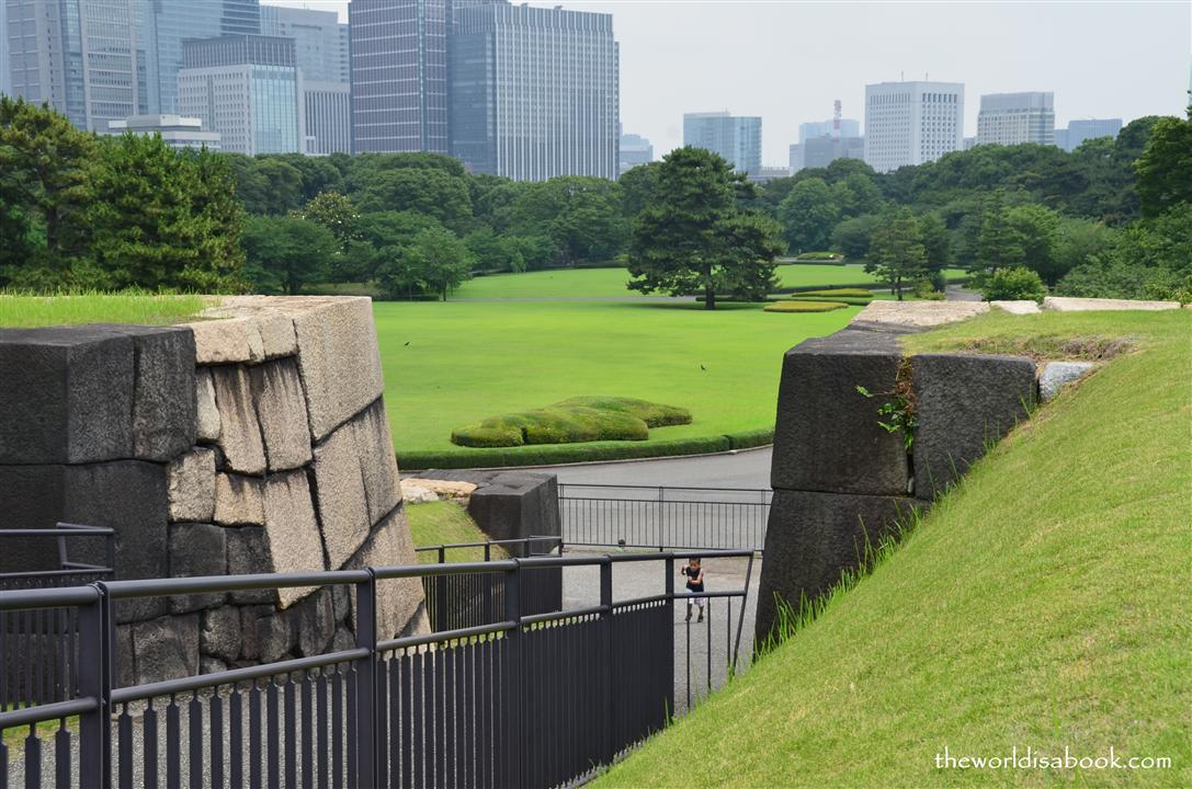 View from old Edo Castle tower foundation in East Gardens