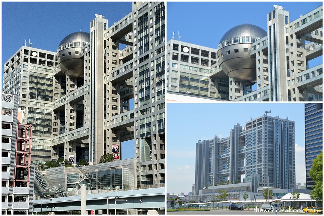 Odaiba Fuji TV building