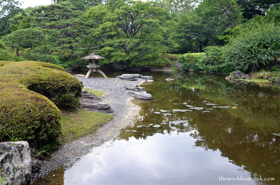 Imperial Palace gardens image