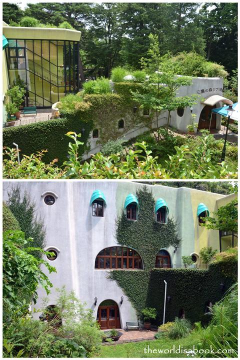 Ghibli museum building