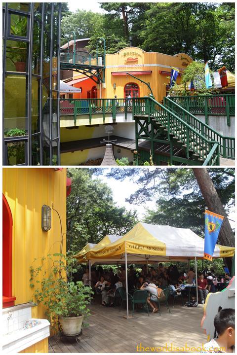 Ghibli cafeteria
