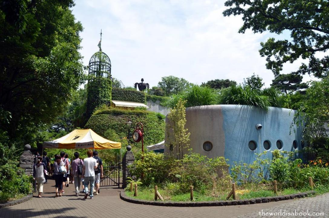 Studio Ghibli Museum entrance