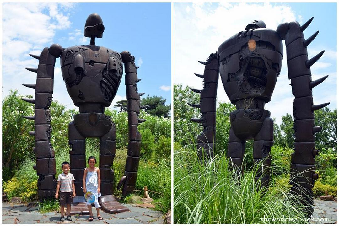 Ghibli museum giant robot