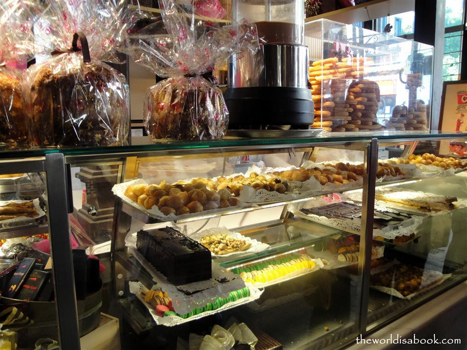 Mercado de San Miguel bakery
