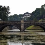 Tokyo Imperial Palace East Gardens with kids
