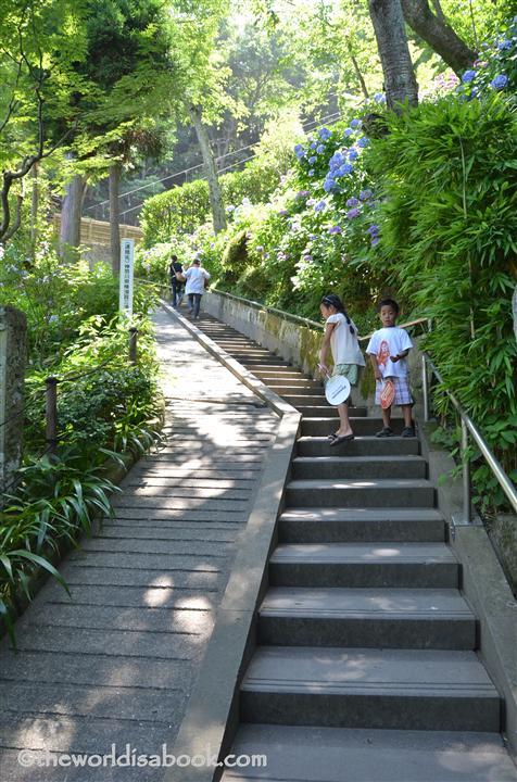 Hasedera stairs