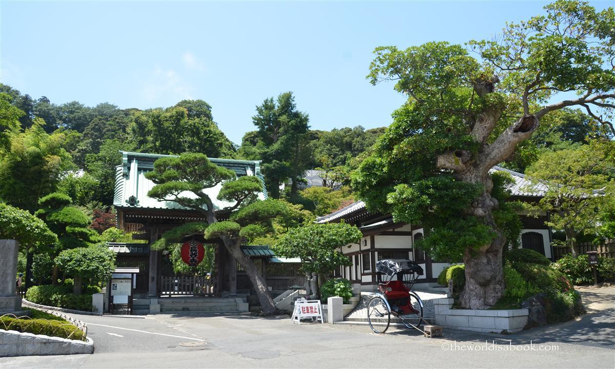 Kamakura Hasedera temple entrance
