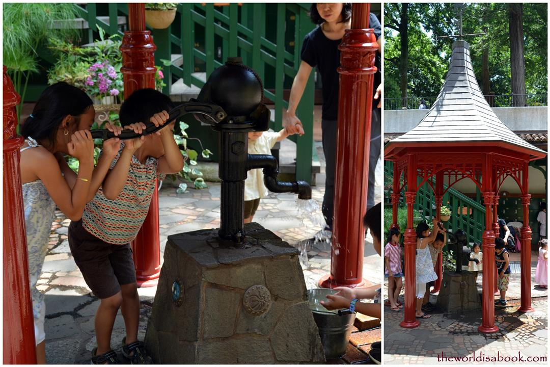 Ghibli Museum water pump
