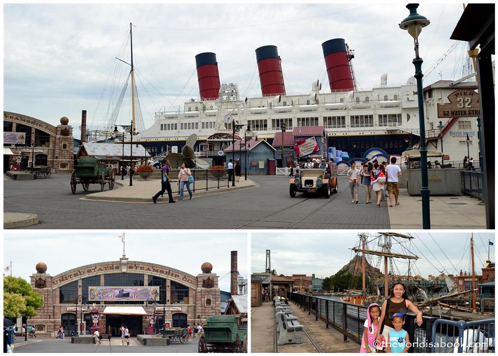 Tokyo Disney Sea American waterfront