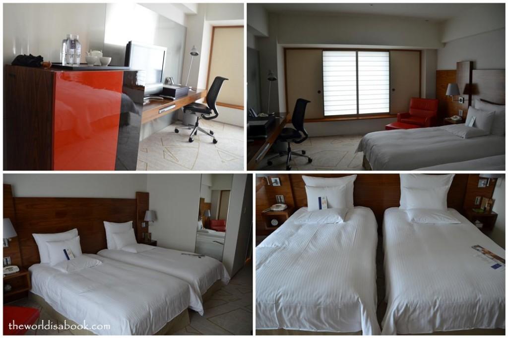 Tokyo Hilton beds