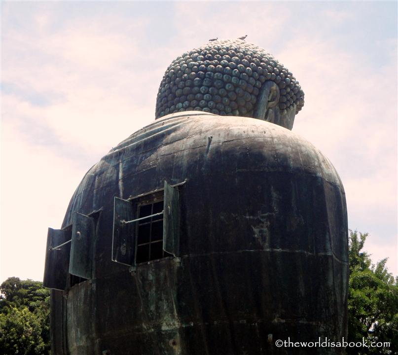 Back of Buddha