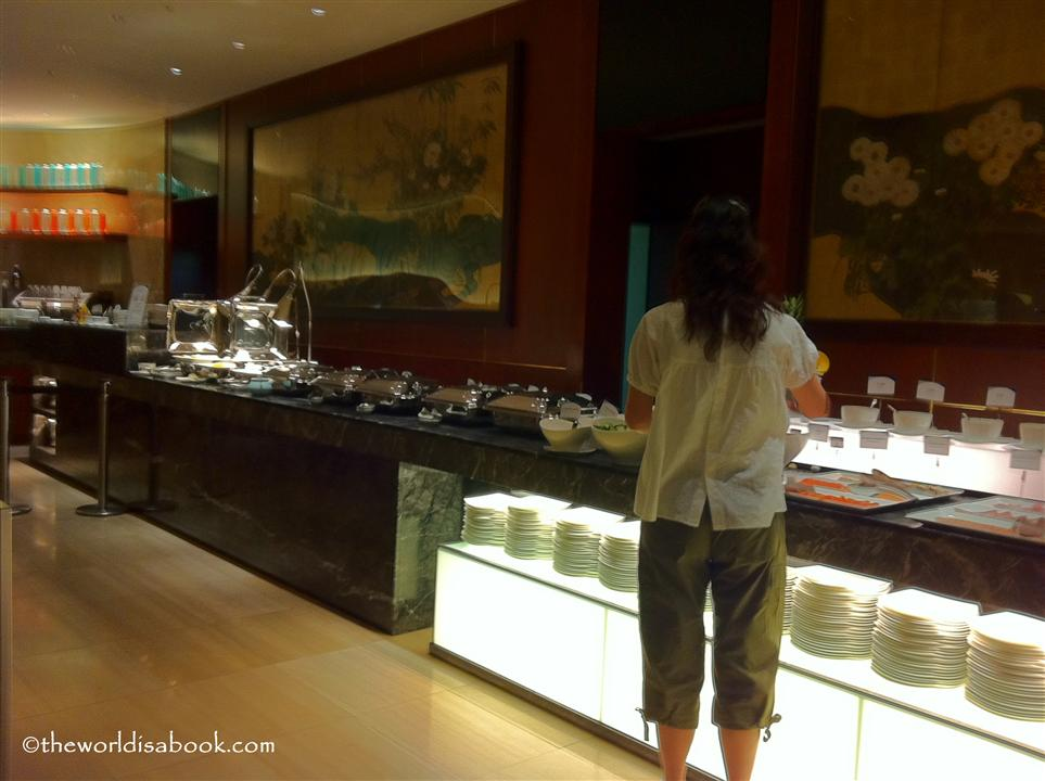 Tokyo Hilton buffet