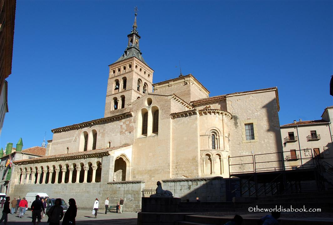 Segovia church