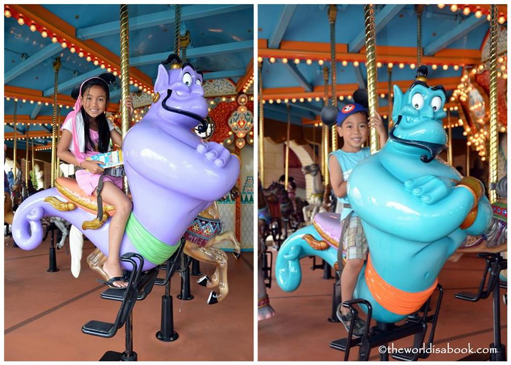 Genie carousel