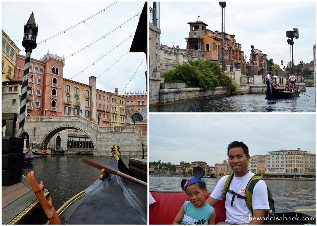 Disney Sea gondola ride