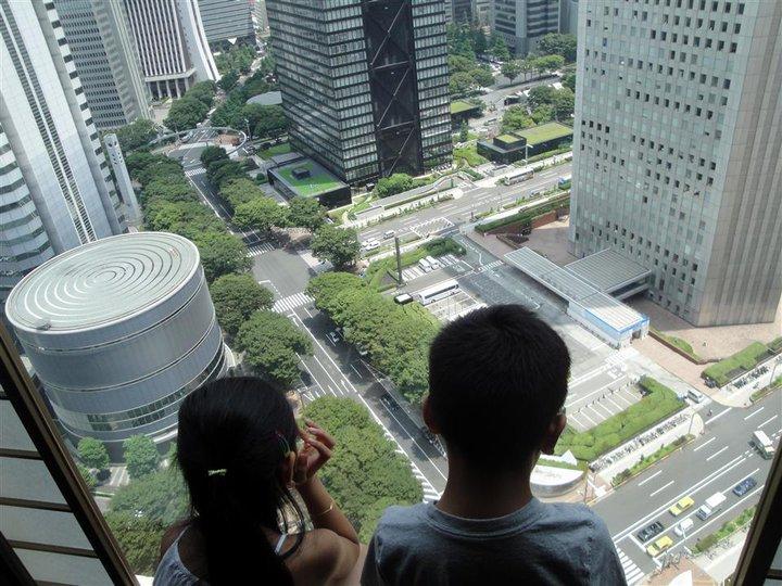 Tokyo Hilton view
