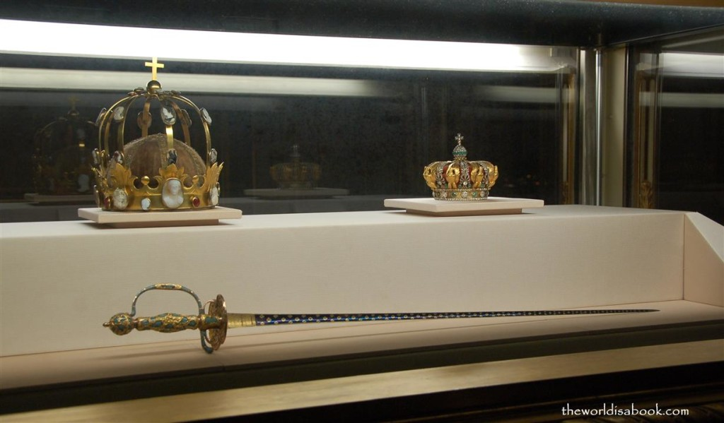Crown Jewels at the Louvre