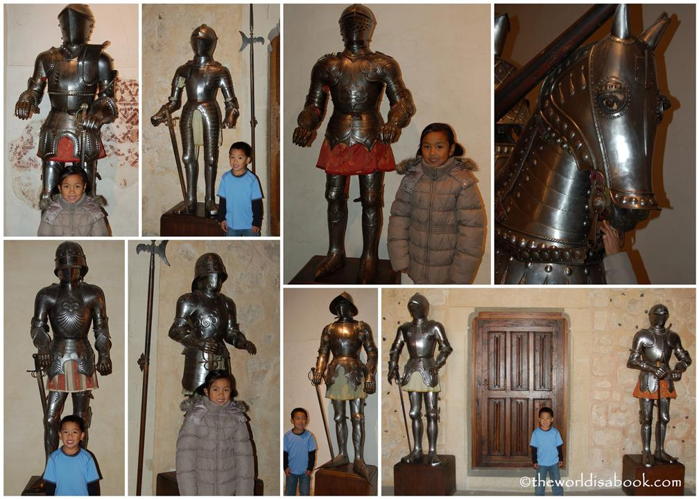 Alcazar of Segovia knights
