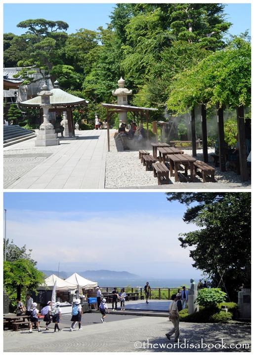 Hasedera lookout and seating