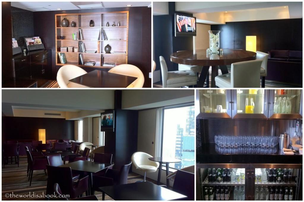 Tokyo Hilton Executive lounge