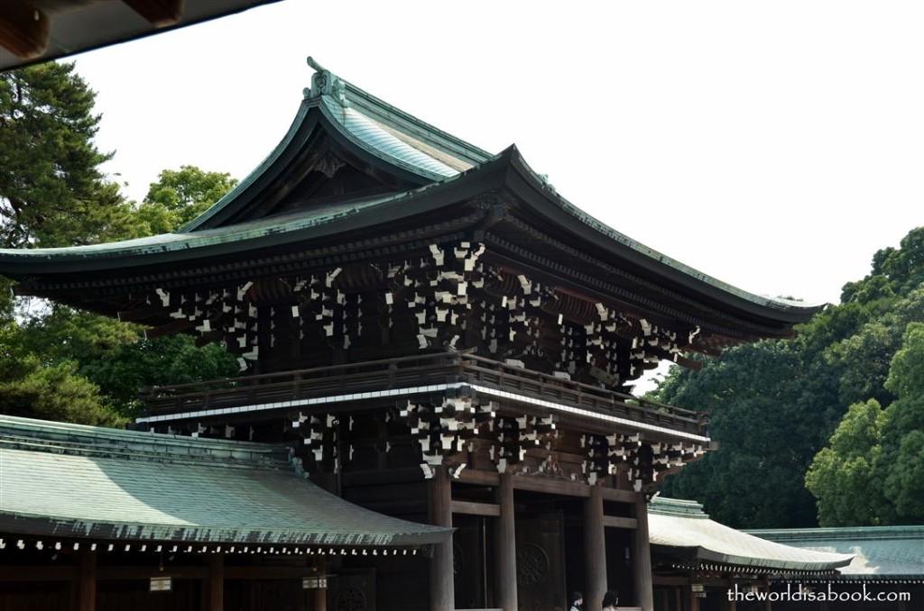 Meiji entrance
