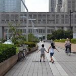Tokyo City Hall with kids: A bird's eye view of Tokyo