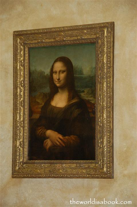 Monalisa at the Louvre