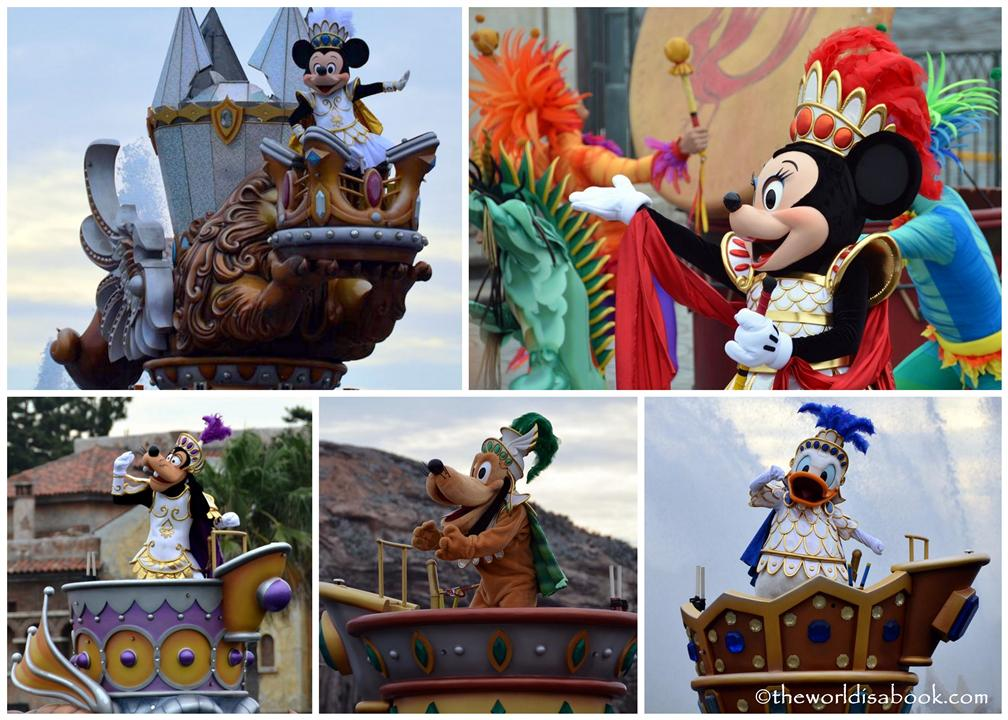 Disney Sea Legend of Mythica characters