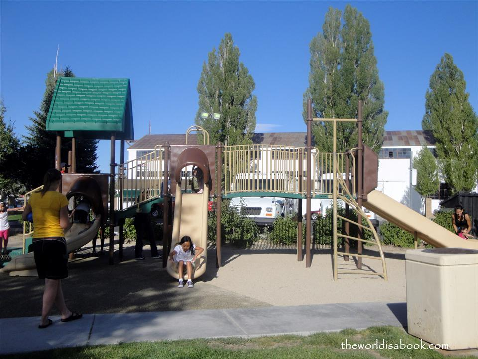 Big Bear playground