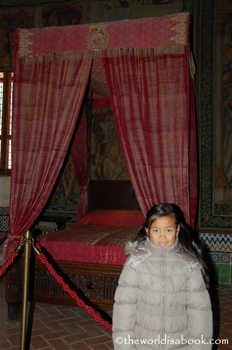 Segovia princess bedroom