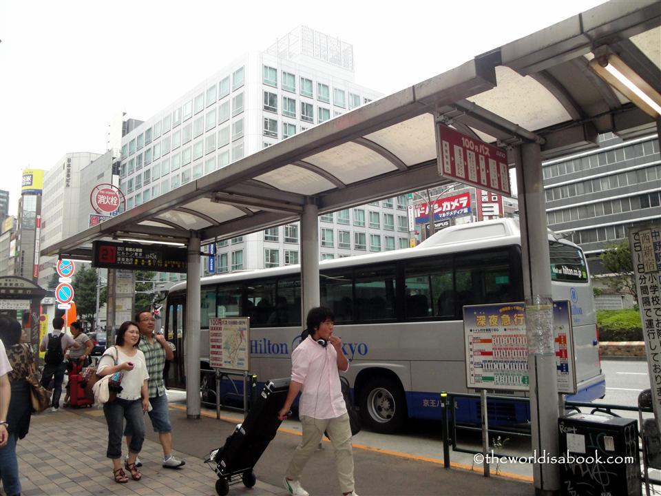 Hilton Tokyo shuttle