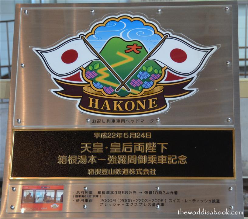 Hakone Sign