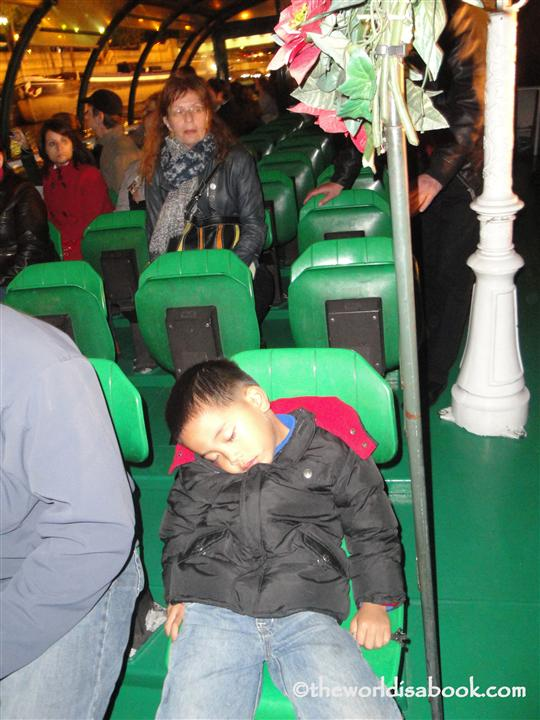Seine River tour sleep