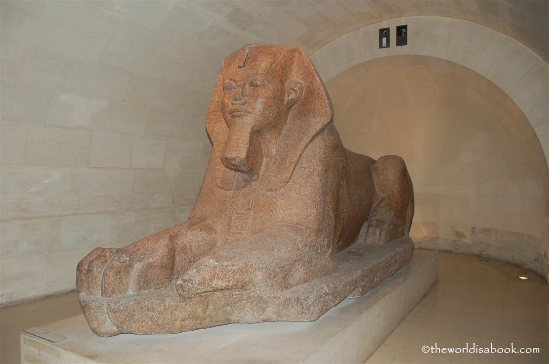 Louvre Museum sphinx